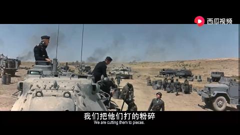 坦克大决战,盟军坦克伏击德军坦克部队,一场重型装备的对决