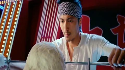 决战食神外国厨师瞧不起中国厨师中国厨师一亮刀就都服了