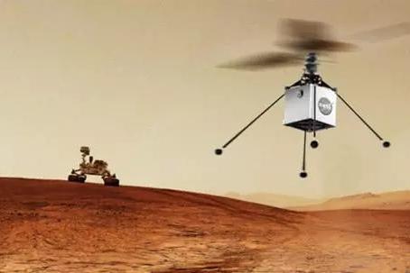 星2020探测器将携带直升机登陆火星