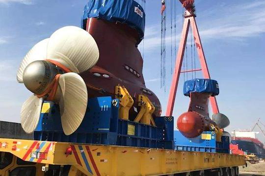 江南船厂又一艘巨舰亮相!性能超越核动力,俄专家:中国人真有钱