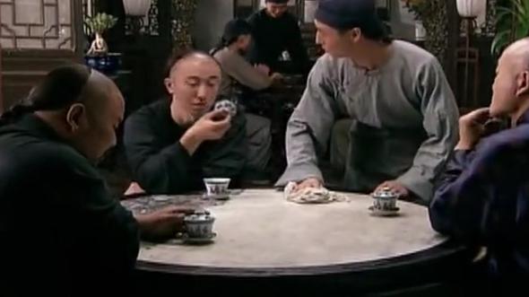 百年荣宝斋左爷吃饭也要给钱这个店家小二厉害了老板牛