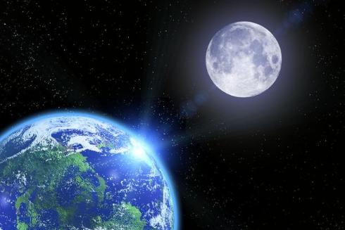 在月球陨石坑中却发现了UFO