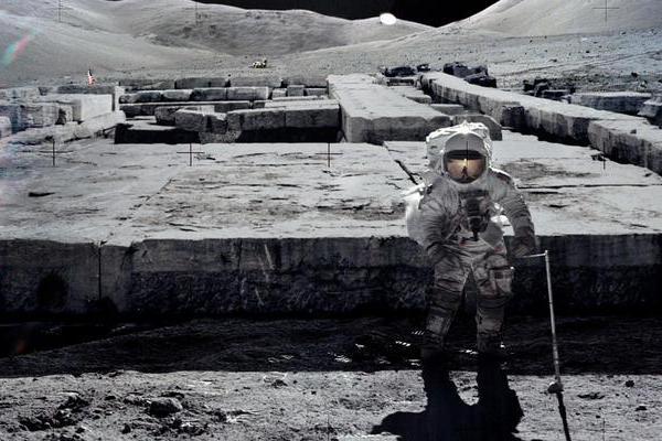 宇航员登月看到了什么?