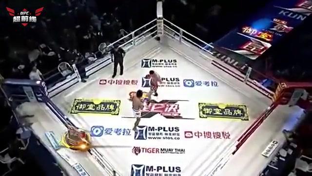 泰国名将勒德斯拉来华挑战,重拳对轰悍将李宁,泰拳王不过如此