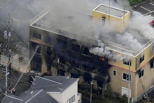 京都动画纵火案嫌犯多次植皮后转院 逮捕时间待定