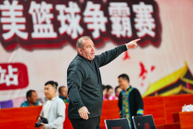 """2019""""林达杯""""中美篮球争霸赛在道真开打,中国山东队再次夺冠!"""