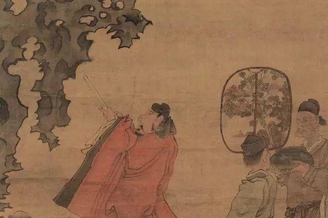 苏东坡临死之前,要求米芾的紫金砚台陪葬,这下米芾急了