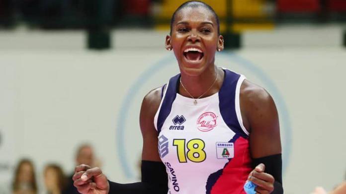 FIVB剑指东京系列之多米尼加女排主攻德拉克鲁兹