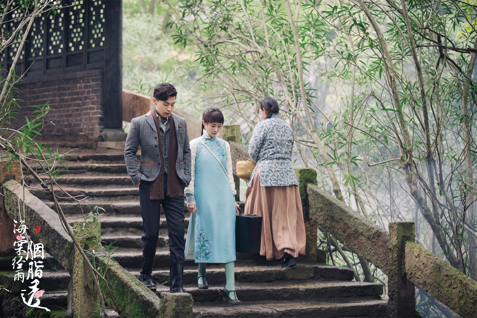 《海棠经雨胭脂透》民国造型获赞  邓伦李一桐上演时尚变装秀