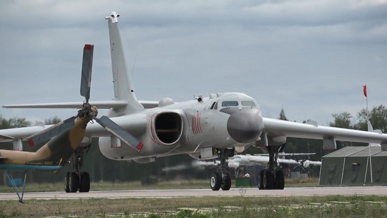 2019年国际军事比赛,俄罗斯多型战机飞行训练,中国空军亮相!