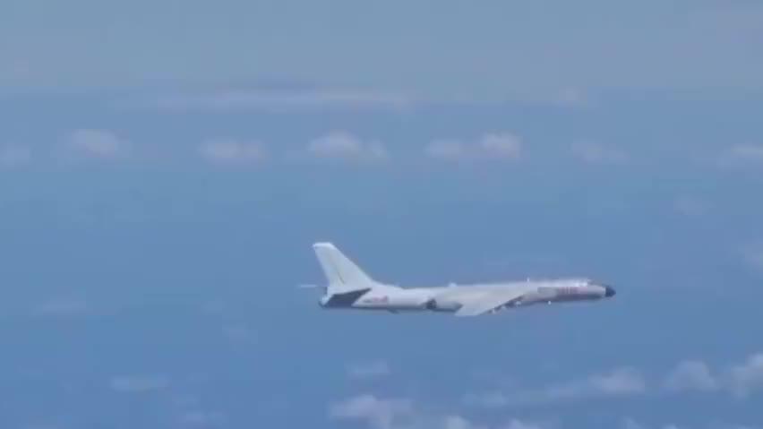 轰-6K最大载弹量有9吨 航程达9000公里 了解一下