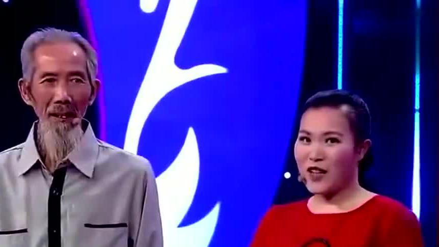 73岁大爷娶28岁女孩,妻子一出场,涂磊连说话都结巴了