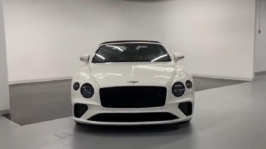Bentley Continental GT 静态展示