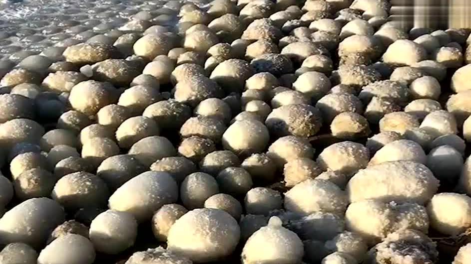 芬兰海滩出现万颗冰蛋,当地居民从未见过,怎么形成的?