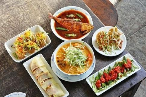 """娘惹菜:中国菜与马来菜的""""混血儿"""""""