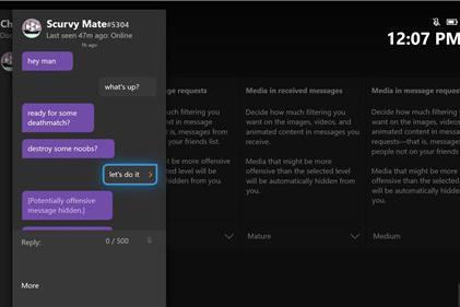 微软推送新AI过滤器帮助用户屏蔽反感内容