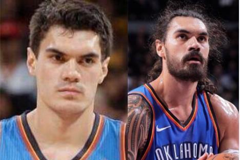 进NBA样貌变化最大的球星:哈登胡子值1亿,亚当斯帅哥变大叔