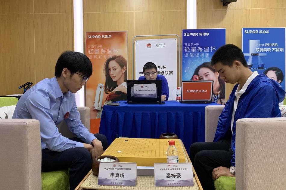 中国第二与韩国第一的围甲对决 申真谞强势击败辜梓豪领跑多胜榜