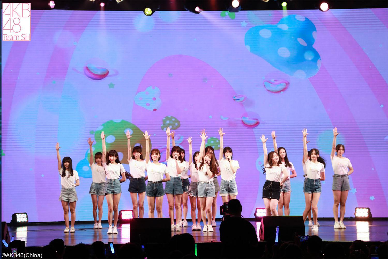 AKB48 Team SH 举办粉丝见面会 一二期生同台PK