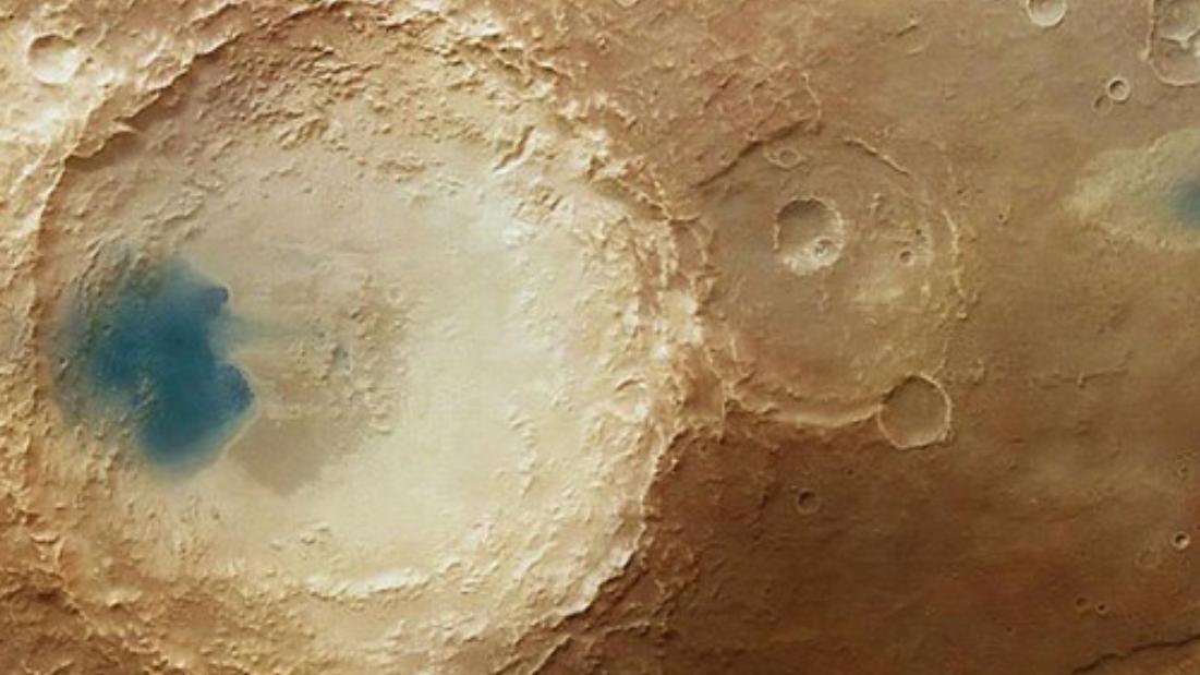 火星陨石坑内出现生命迹象?甲烷浓度快速上升成最关键线索