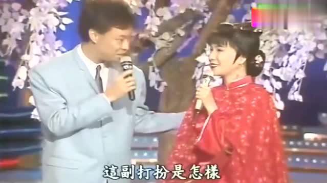 龙兄虎弟:郭美珠调侃张菲和费玉清两位主持人,有一个像土匪