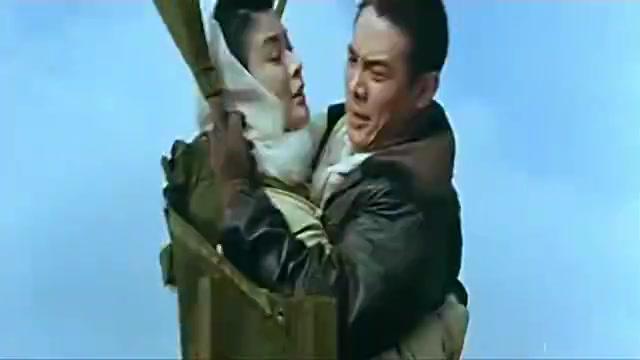 天空中这是李连杰和关之琳吗?杨采妮和金城武都看瞢了!