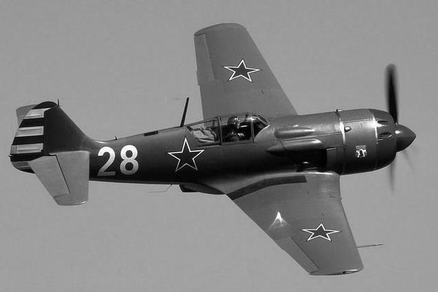 二战空战十大明星兵器之六——苏联拉-5/7式歼击机的霸气出击
