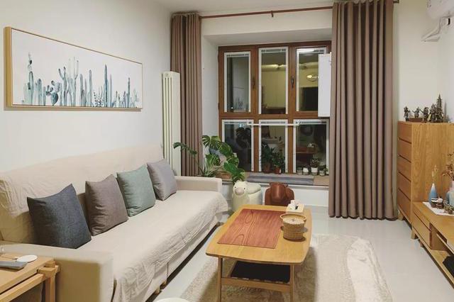 买老公寓翻新当婚房被笑话,装完温馨舒适不输人,亲戚们都服了