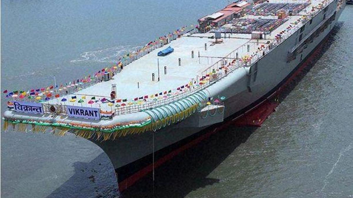 """这次要""""磨舰三十年""""?印海军司令拍板,壕掷300亿加速建航母"""