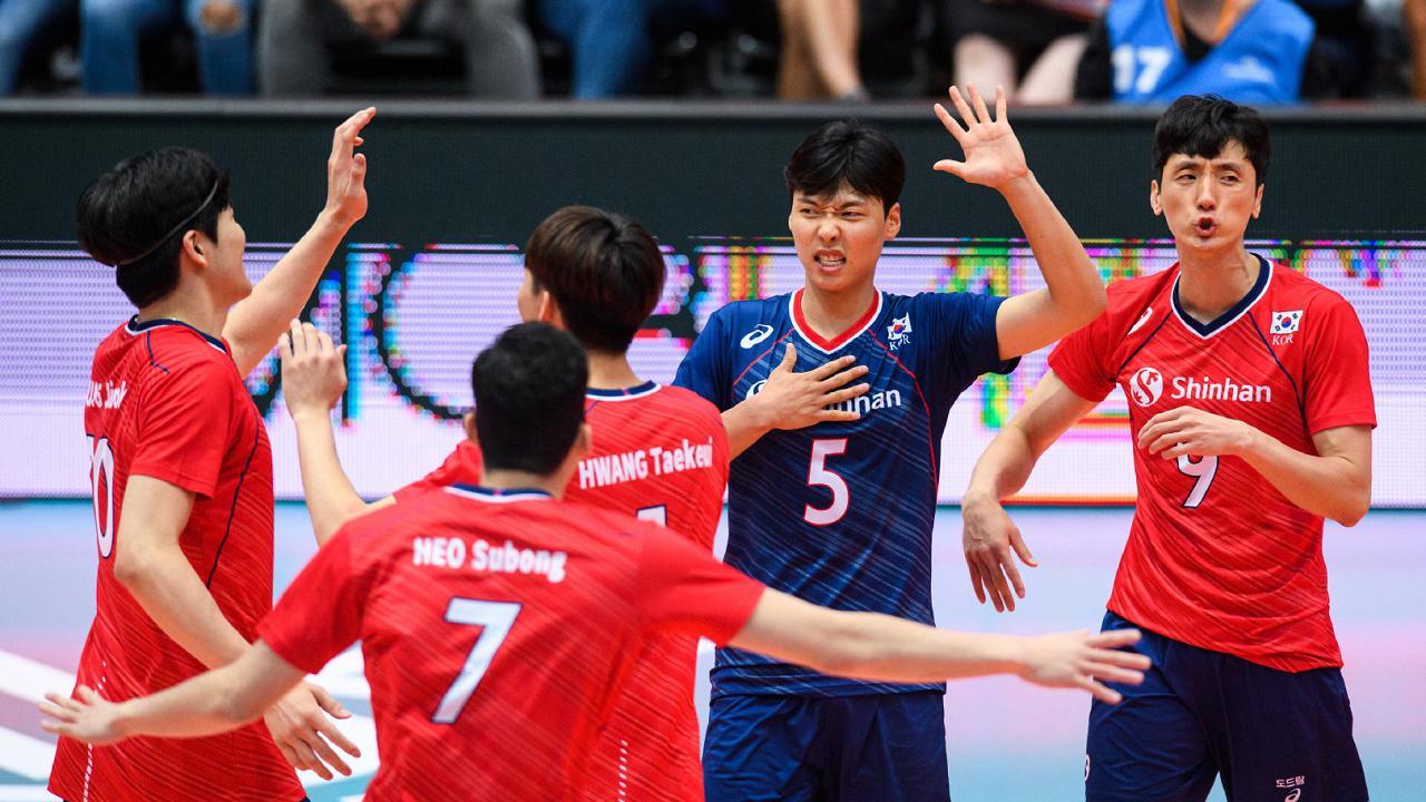 真是个棒槌~韩国男排2019东奥资格赛之旅!