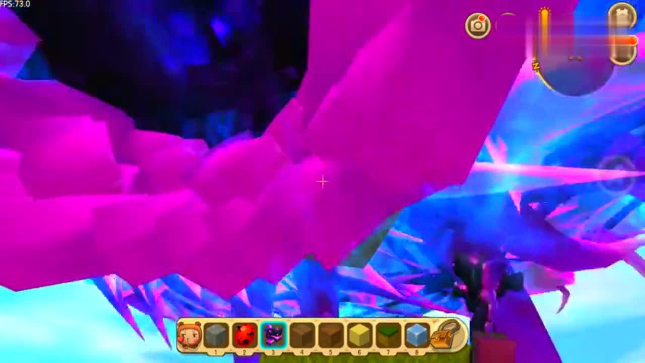 迷你世界:制作稀有植物紫罗兰教程,拥有无尽的异火