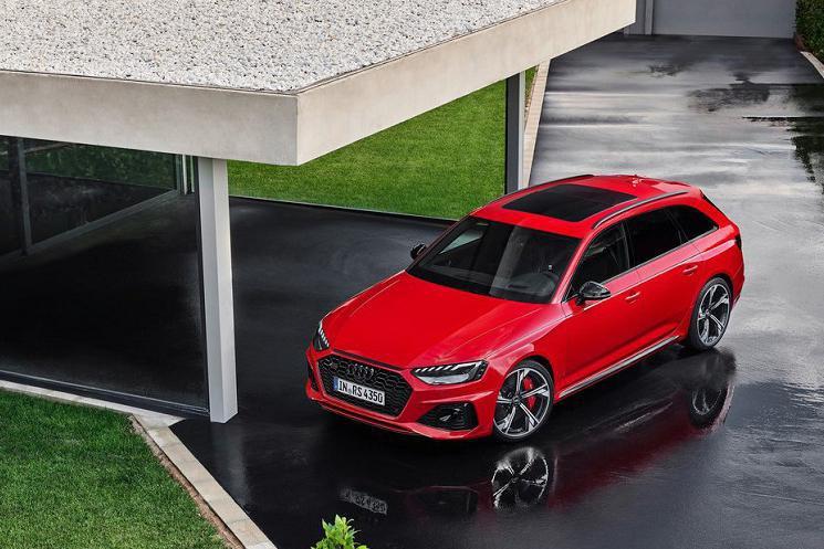 搭2.9T V6发动机  奥迪新款RS4 Avant将亮相洛杉矶车展
