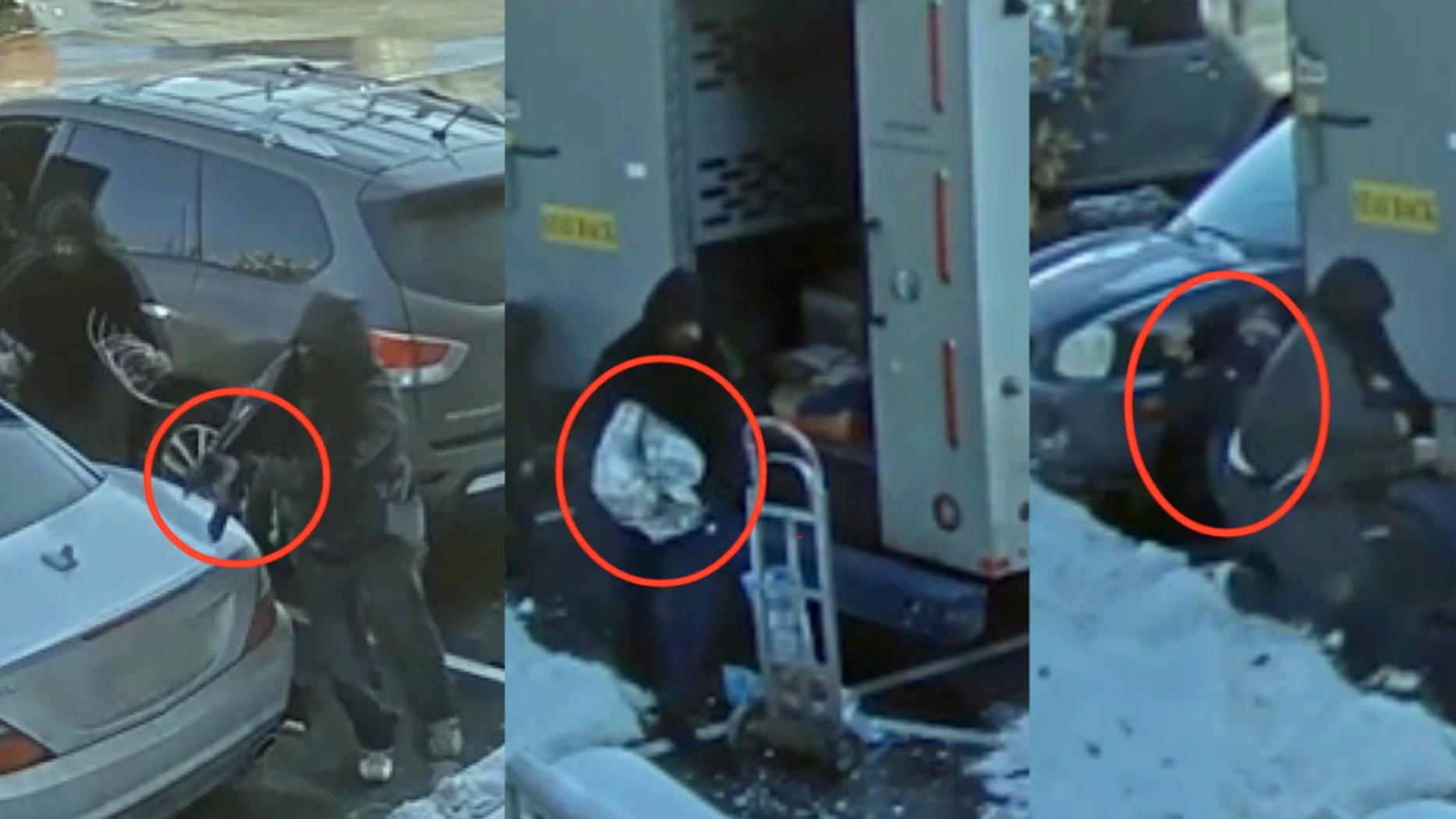 未反抗全副武装劫匪美国女子遭辞退!监拍:女子工作时遭持枪抢劫