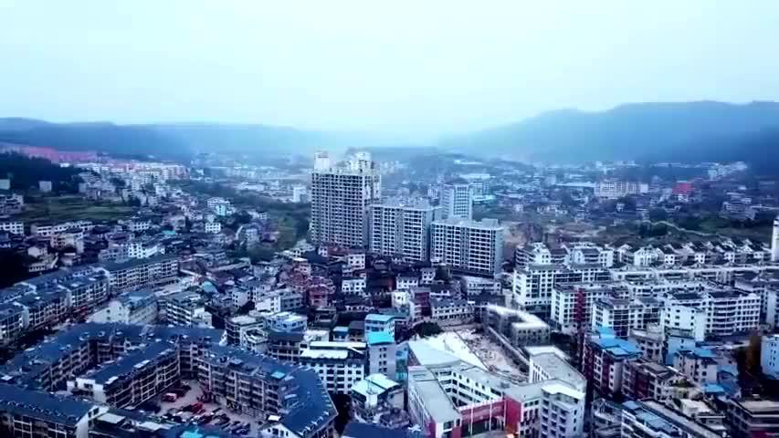 中国黎平县侗都,黔东南州的县城全景,黎平县真的太美了!