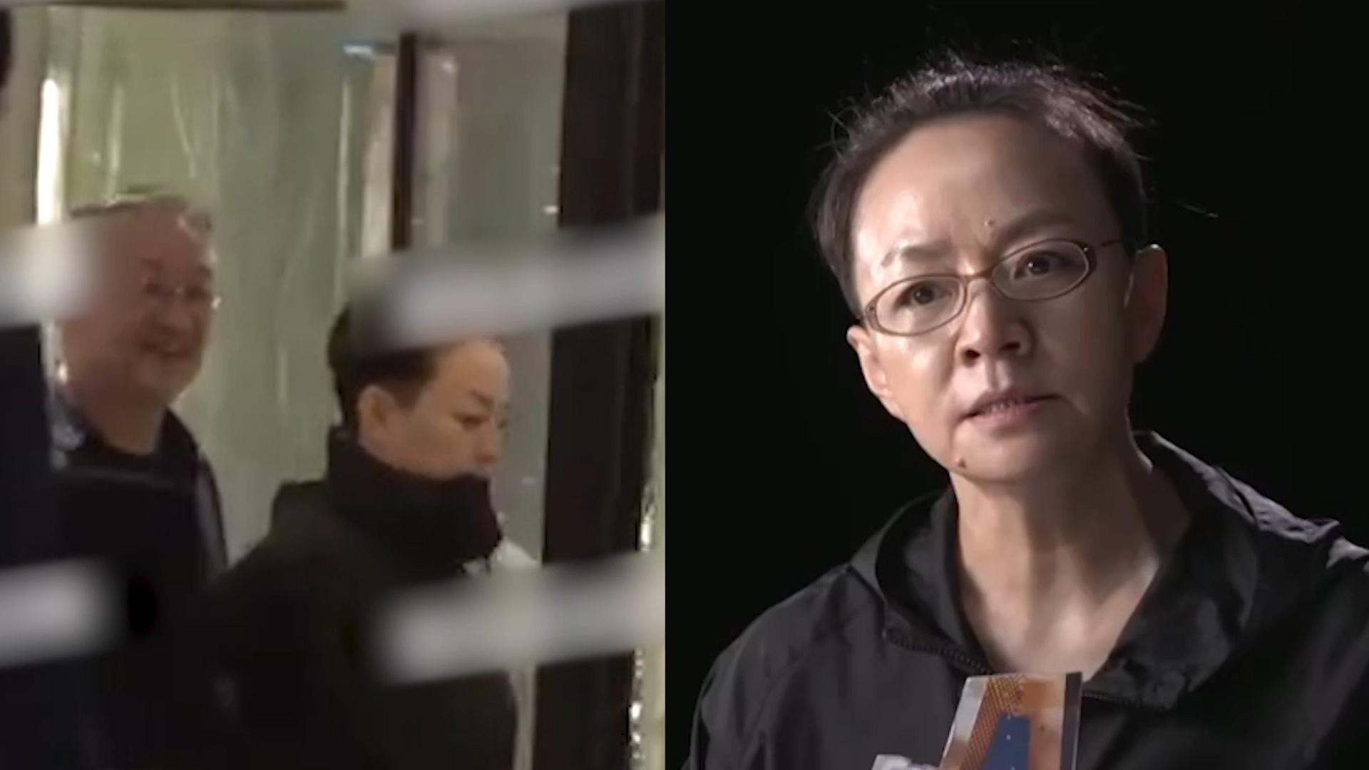 宋丹丹深夜和赵宝刚聚会,有说有笑气氛融洽,早前多次谈及想退休
