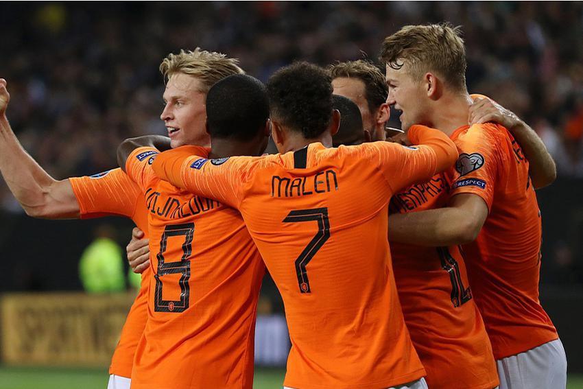 上上签?荷兰队成2020欧洲杯抽签幸运者,有望轻松杀入半决赛