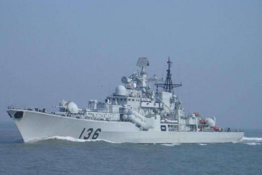 改装后战力几乎翻倍,现代级驱逐舰已超越054A,略逊于052C