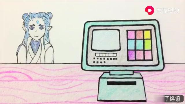手绘定格动画:哪吒敖丙出来买月饼,晚上要一起赏月吃月饼吗