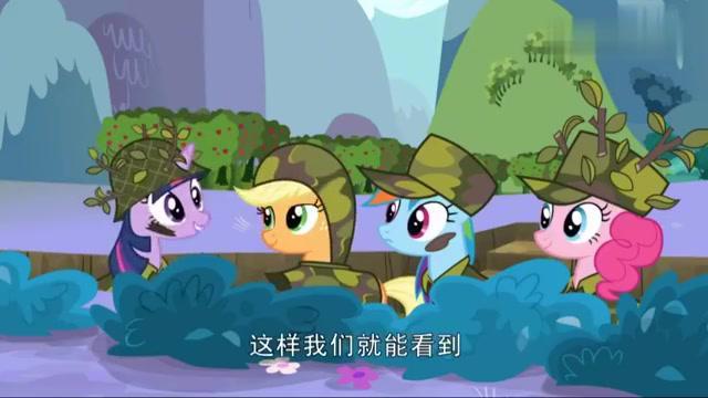 小马宝莉:穗龙围着围裙,给小马们食物,却被云宝嘲讽!