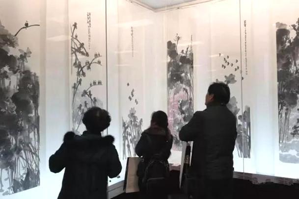 """乐山风情 贵阳情谊 """"水墨寻道诗意嘉州""""书画家作品展举办"""