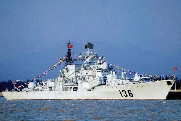 脱胎换骨!杭州舰改装完成首度现身!换装054A同款装备