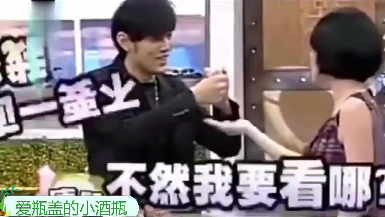 小S吐槽周杰伦魔术表演幼稚旁边的蔡康永笑得没谁了