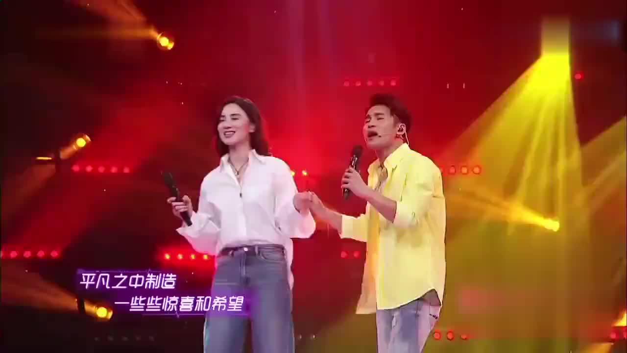 宋佳文松合唱《制造浪漫》文松舞台搞怪薛之谦在台下都笑翻了