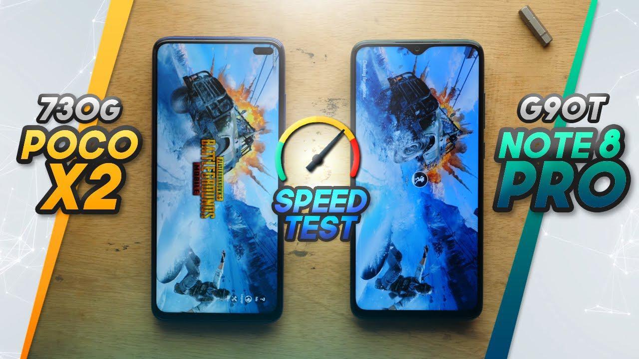 小米POCO X2与红米Note8 Pro运行速度、跑分测试