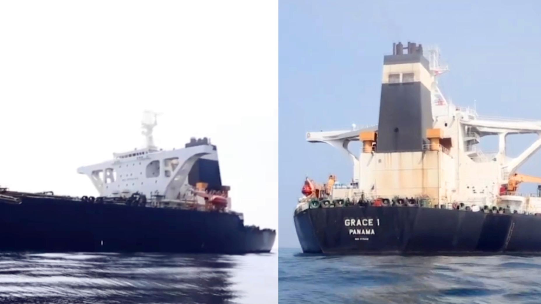 """直布罗陀释放伊朗原油油轮 早前美国曾提出接管请求被""""拒"""""""
