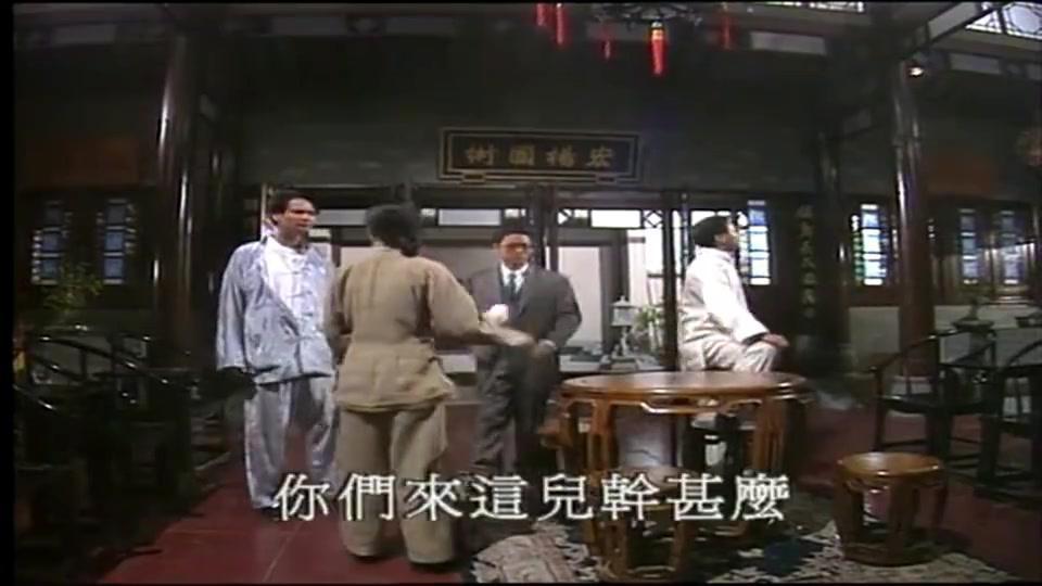 精武门:蔡学富带人到精武门闹事,逼迫陈真打黑拳,太嚣张了