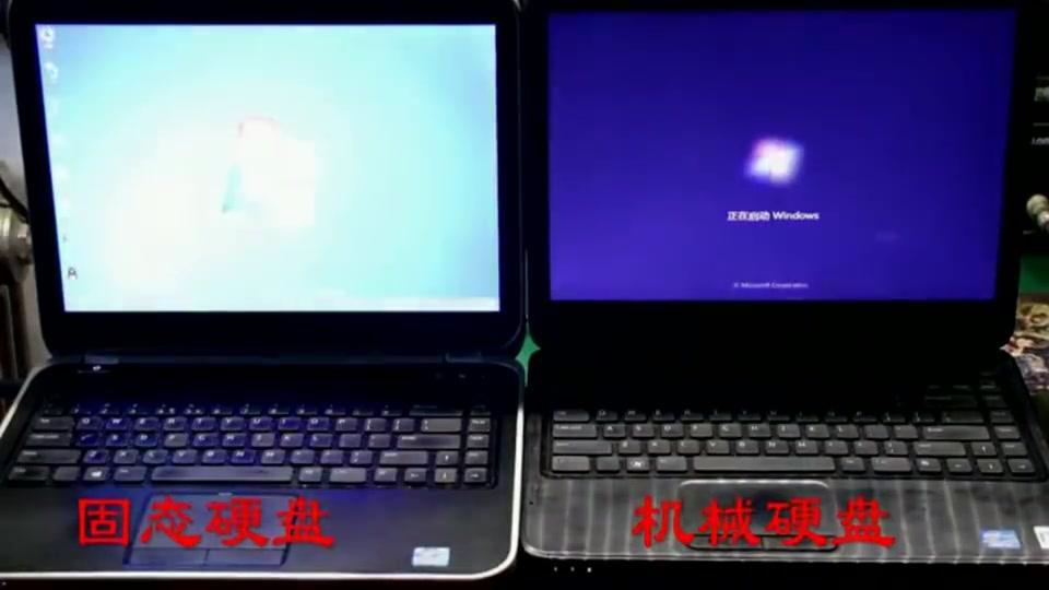 固态硬盘跟机械硬盘到底有什么区别,看小伙实测得出结论