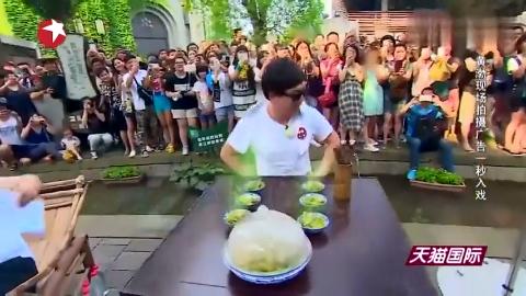 极限挑战影帝是怎么练成的黄渤现场拍摄广告一秒入戏