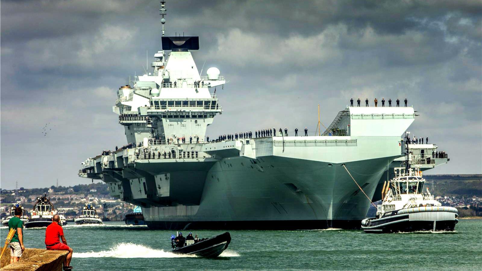 英国欲向印度推销女王级航母设计,但有一点不达标,局座有话要说