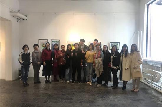 """""""极致水彩联展""""在北京798艺术区北京XYZ(行云座)画廊举行"""
